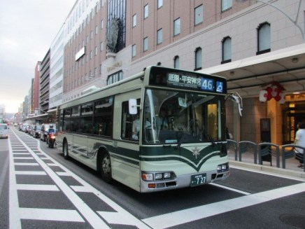 אוטובוס בקיוטו