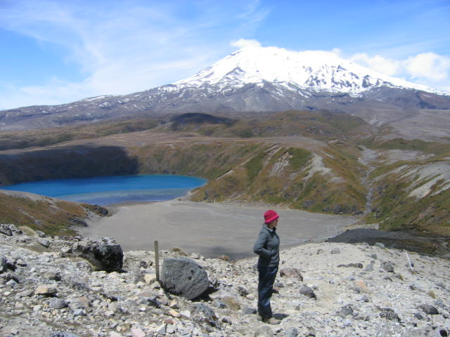 הטרק לאגמי טאמה בשמורת הטונגרירו