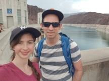 ביקור בסכר הובר