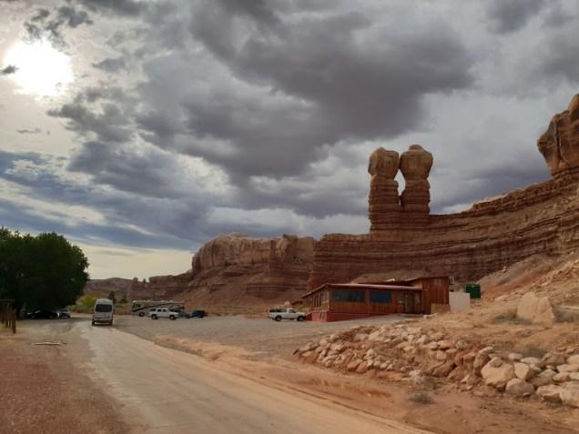 Twin rocks trading post