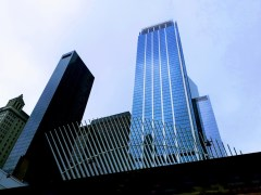 חלק ממרכז הסחר העולמי החדש בגראונד זירו