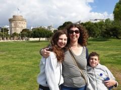 טיול משפחתי בסלוניקי