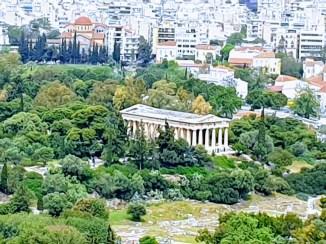 אתונה עם הילדים