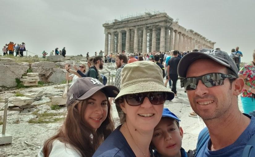 מסלול טיול משפחתי באתונה