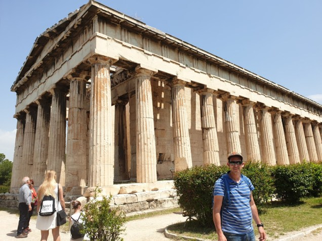 אטרקציות באתונה - האגורה היוונית