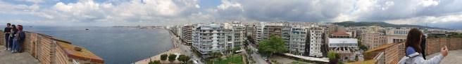 תצפית מהמגדל הלבן בסלוניקי