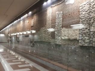 שרידים ארכיאולוגיים תחנת המטרו בכיכר סינטאגמה באתונה