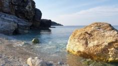 בחוף מילופוטאמוס בחצי האי פיליון, יוון