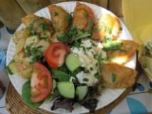 דוכני אוכל בקמדן מרקט