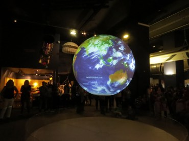 תערוכת החלל במוזיאון המדע בלונדון