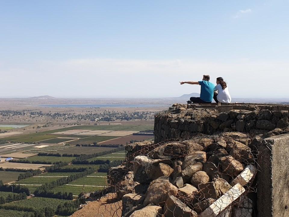 תצפית על סוריה מהר בנטל