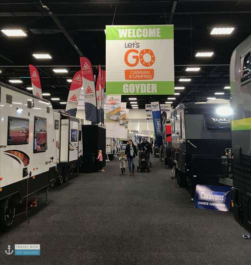 Goyder Exhibition Hall at Adelaide Showground during Let's Go Caravan and Camping Sale 2018