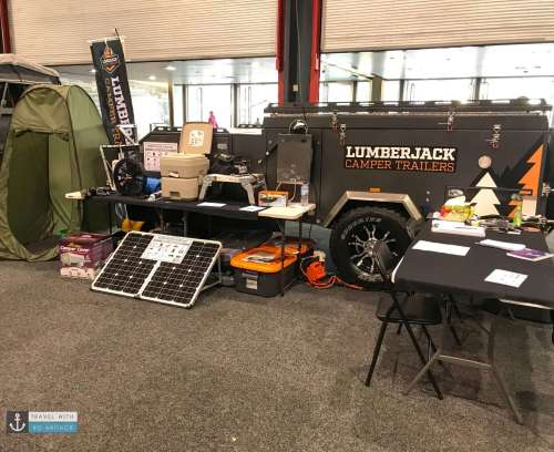LumberJack Camper Trailers Show Special items at Let's Go Caravan and Camping Sale 2018