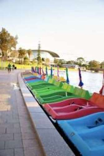 Paddle Boats Adelaide, water activities Adelaide, water activities River Torrens, Popeye Boat Adelaide