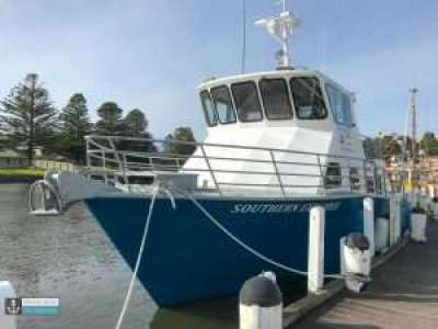 Southern Explorer Fishing Charter vessel at Port Fairy