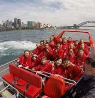 Oz Jet Boating through Sydney Harbour
