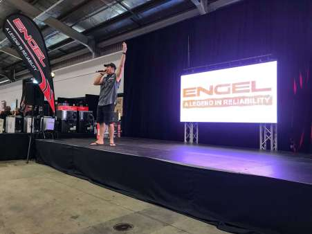 Jase Andrews at Adelaide 4WD & Adventure Show 2018