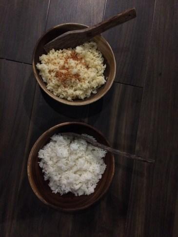 Isla Una Plain Rice and Garlic Rice