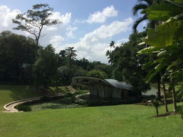 Singapore Botanic Gardens amphitheater