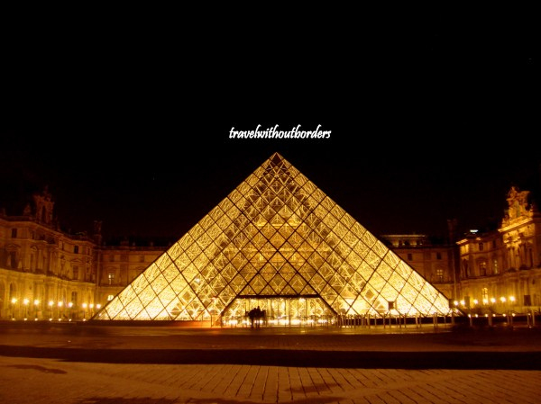 Louvre Day Night Paris France