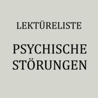 Bücher über psychische Störungen