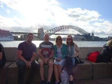 Anddd the famour Harbour Bridge backdrop