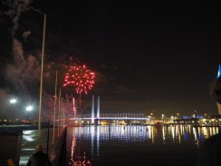 Firework at the Docklands