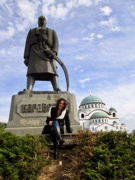 Stanito and Karađorđe, the Serbian hero who led the people towards independence from the Turkish