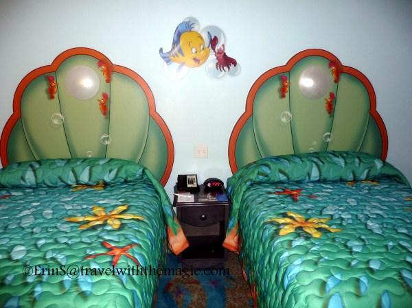 Disney' Art Of Animation Resort Little Mermaid Rooms - Travel With Magic Agent