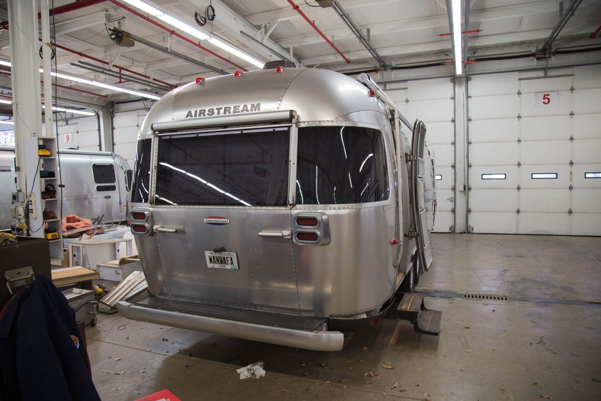 Airstream Makeover part 1 - Nov 2016