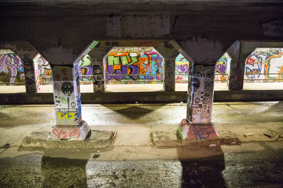 Krog Street Tunnel - Jan 2017