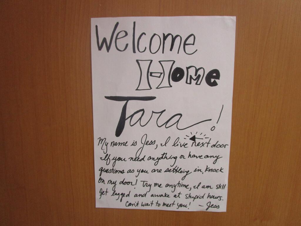Welcome to Jeju, South Korea Door Sign