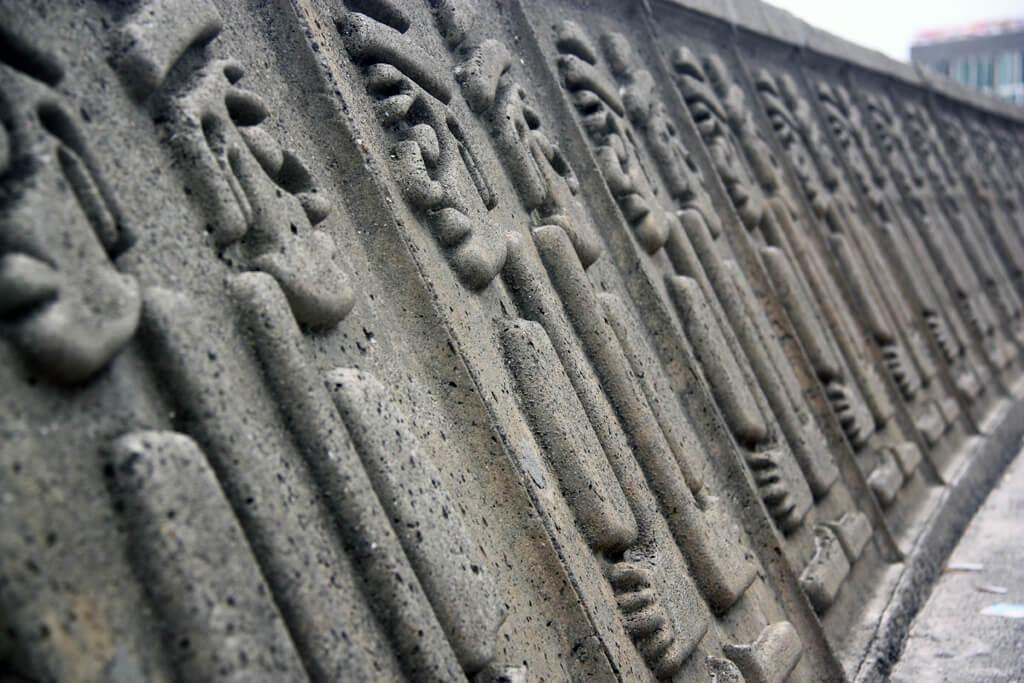 Jeju Stone Man Walls
