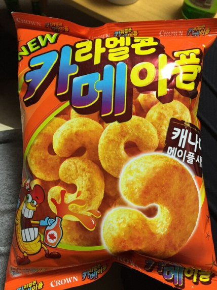 Maple Syrup Korean Chips