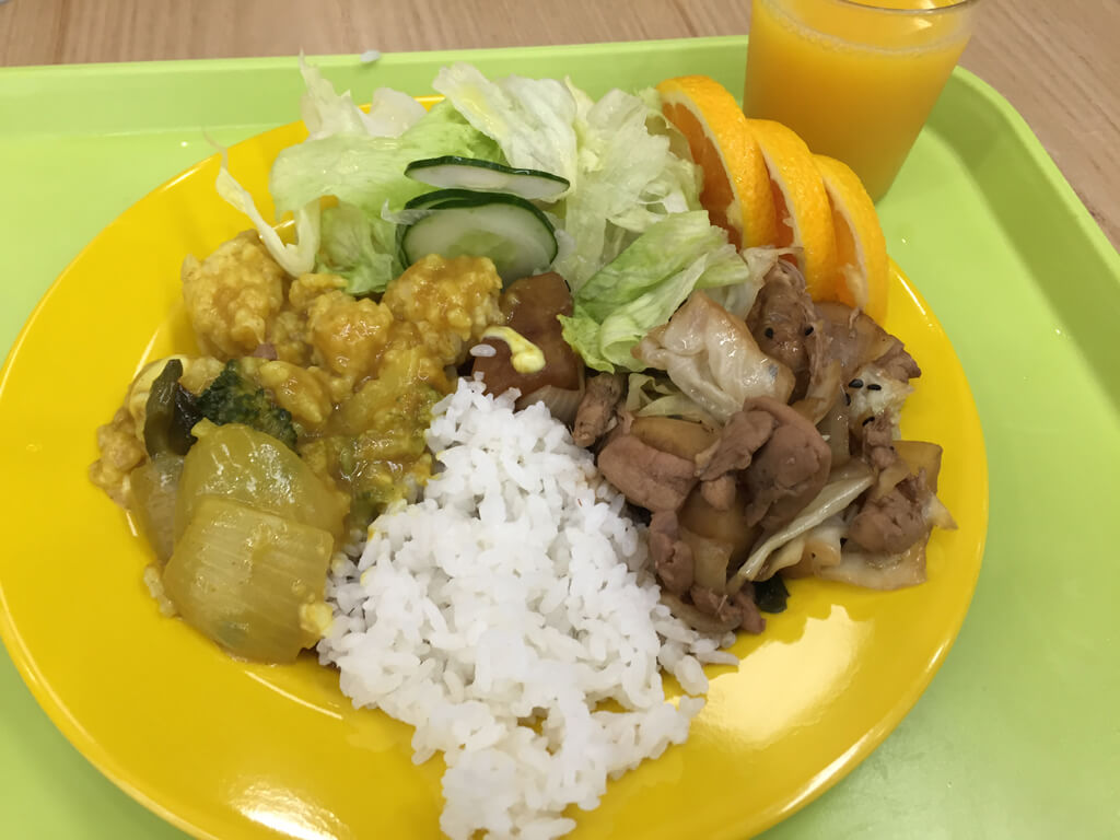 Cafeteria Curry in Korea