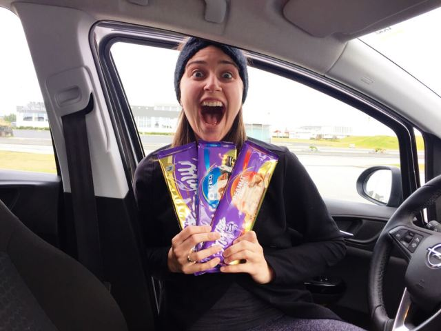 Icelandic Milka Bar Thrills