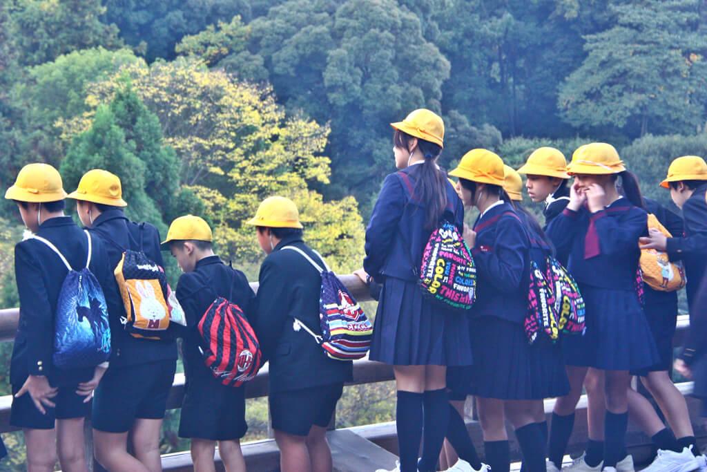 Japanese School Excursion