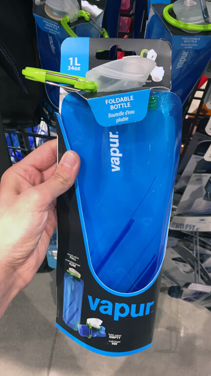 RTW Prep - Vapur Foldable Water Bottle
