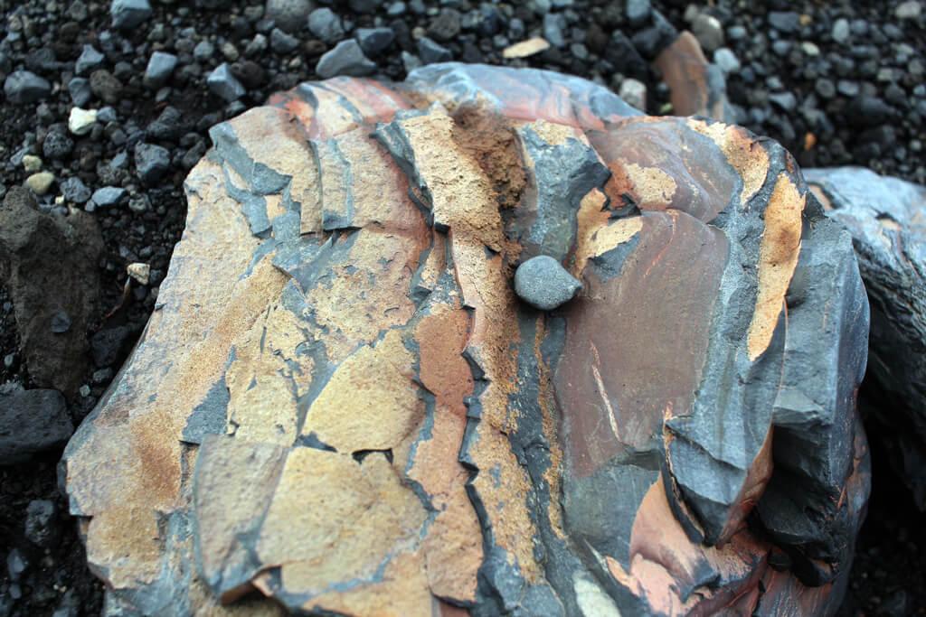 Iceland Coloured Rocks