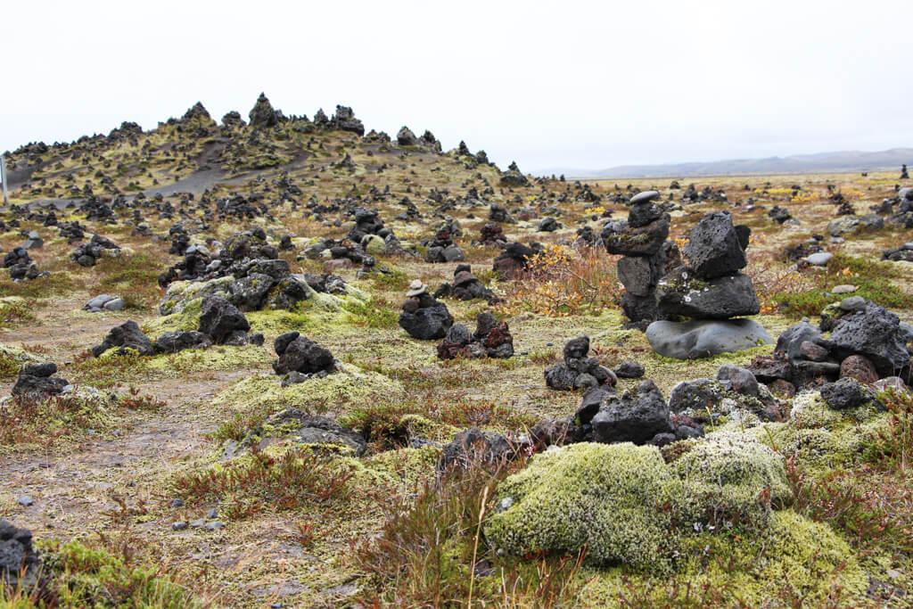 Iceland Inukshuks at Laufskalavaroa