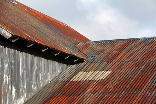 Iceland Tin Barn Roofs