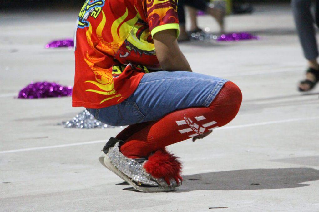 Vietnam Dragon Slippers
