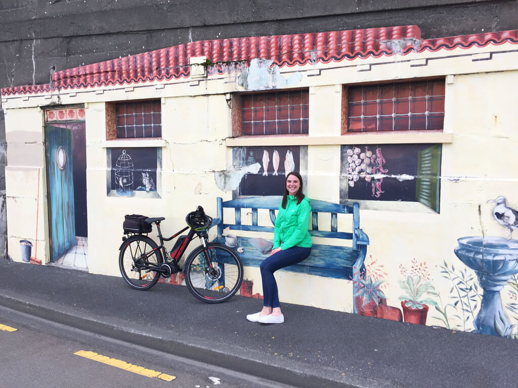 SwitchedOnBikes Wellington Mural