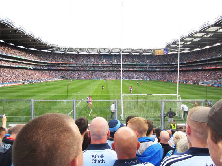 Dublin's GAA Croke Park, View from Hill 16