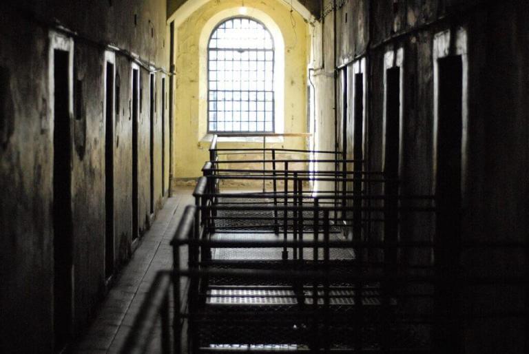 Dublin's Kilmainham Gaol, Image by alanbatt from Pixabay