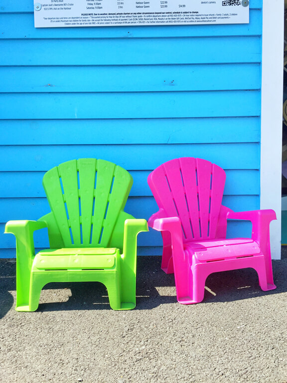 Bright and Colourful Halifax Summer Seats