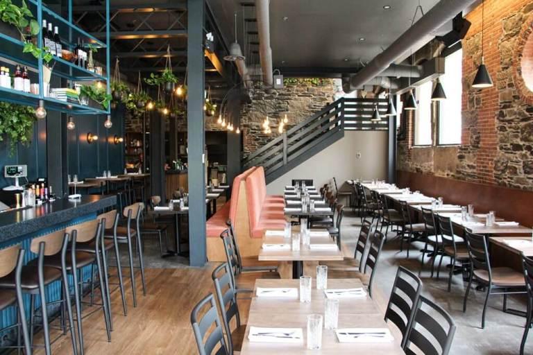 Halifax's Julep Restaurant Interior