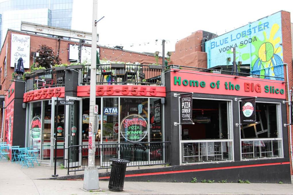 Halifax's Sicilian Pizza on Pizza Corner
