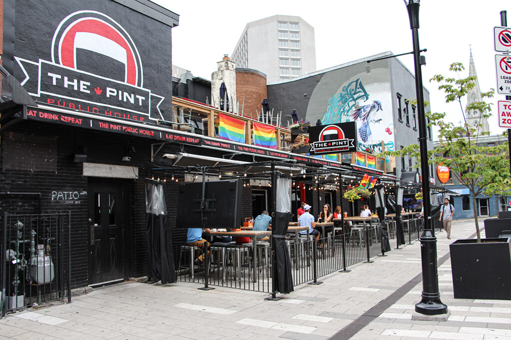 Halifax's The Pint Patio