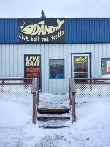 Dandy Live Bait and Tackle in Northern Ontario